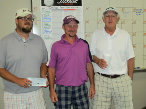 1st Place team: P Stowe, R. Mise. T. Chamdler and R. Taylor
