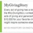 Help the Shelter with MyGivingStory