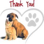 Thank You – Yard Sale & Adoption Event