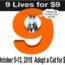 9 Lives for $9 Cat Adoption Event